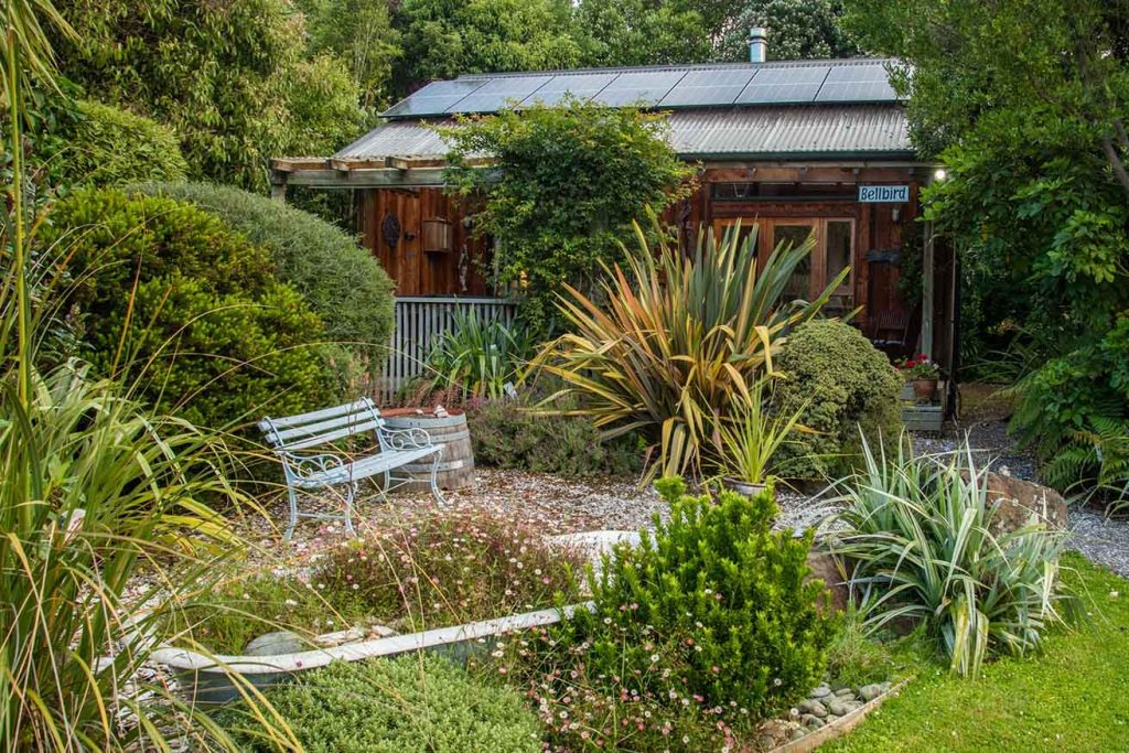 Bellbird cottage - Fantail Lodge accommodation Dunedin