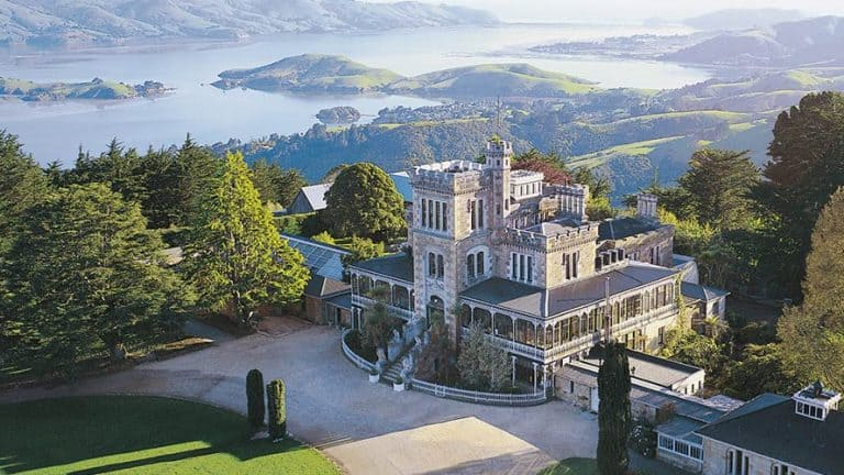 Larnach Castle tours and gardens in Dunedin