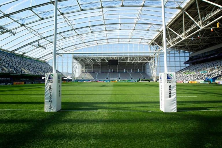 Forsyth Barr Stadium in Dunedin for rugby and concerts